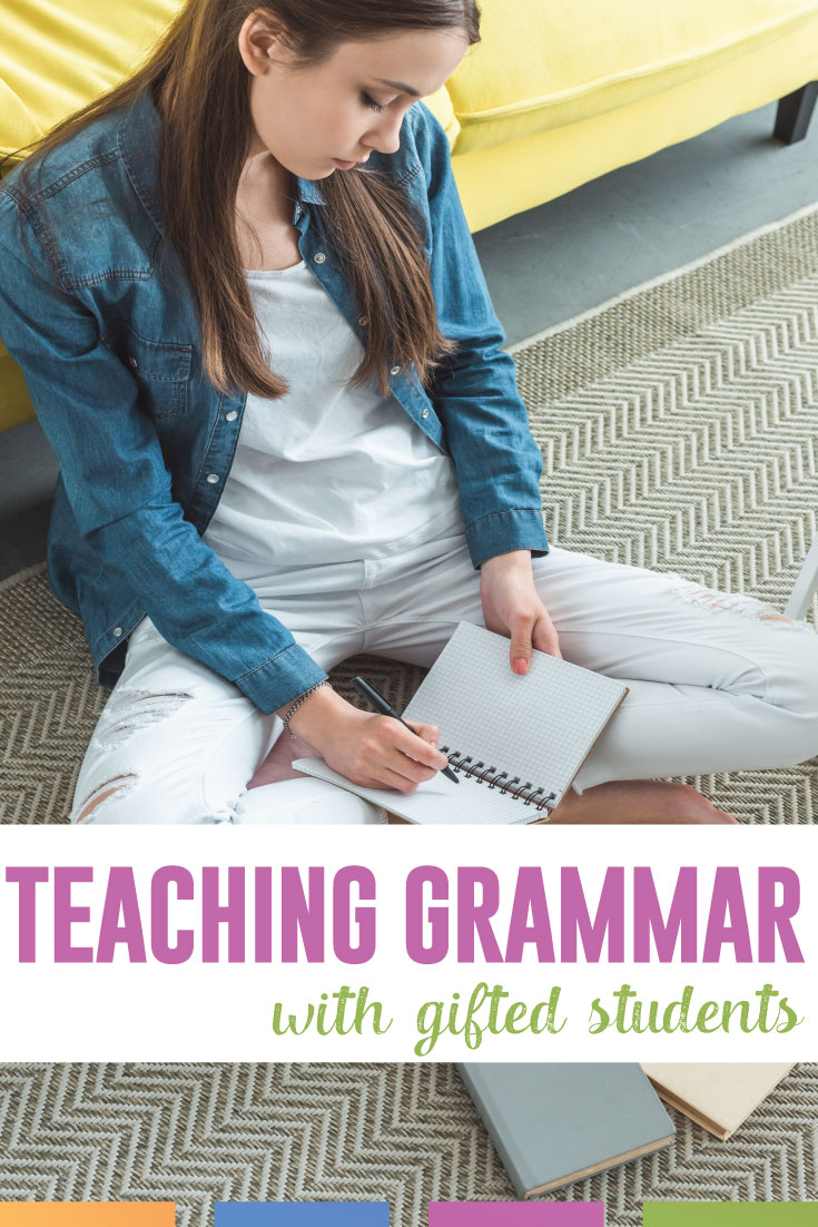 Grammar lessons are a perfect way to reach gifted students. The challenge and numerous layers that the English language contains will provide valuable lessons to gifted children. #GrammarLessons #GiftedStudents