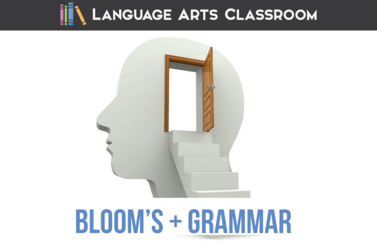 Back to basics: where do grammar lessons align with Bloom's Taxonomy? Some practical teaching ideas for grammar lessons. Bloom's taxonomy English lesson plans can organize ELA planning.