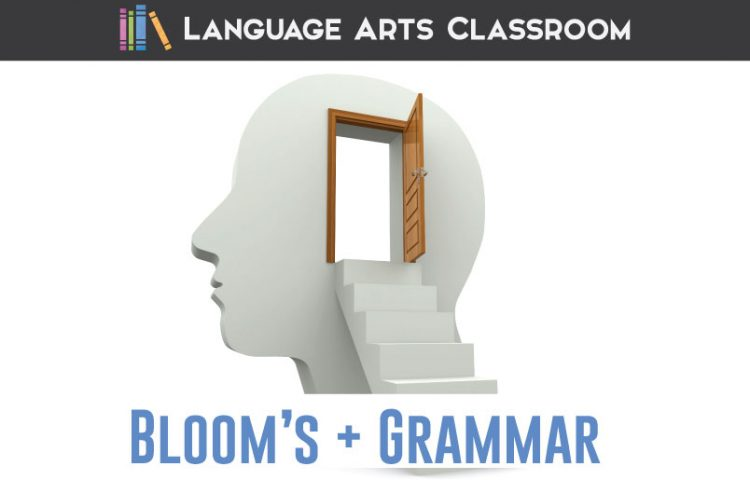 Back to basics: where do grammar lessons align with Bloom's Taxonomy? Some practical teaching ideas for grammar lessons. #MiddleSchoolELA #GrammarLessons