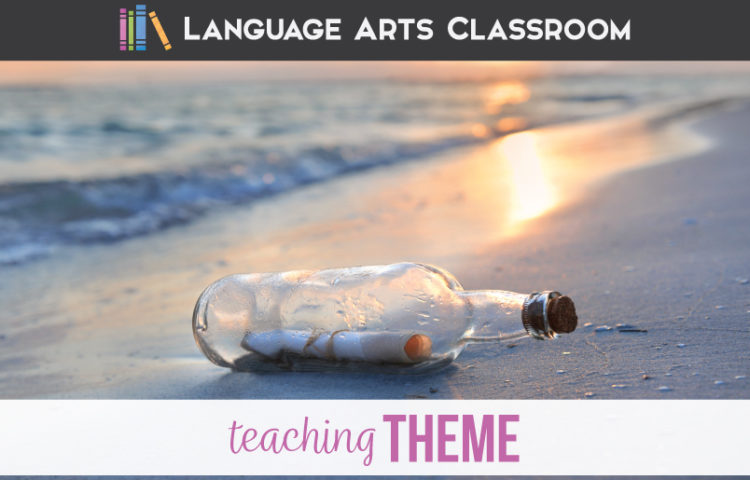 Teaching the Literary Term Theme can add to literature discussions. Teaching theme in high school can lead toward literary analysis.