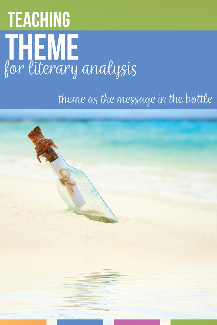 Are you teaching literary term theme with literary analysis? Teaching theme in high school can include a scaffolded anticipatory set & metaphors. When teaching themes in literature, build off prior knowedge like teaching themes with movies. Stories for teaching theme can engage middle school English & high school English classes.