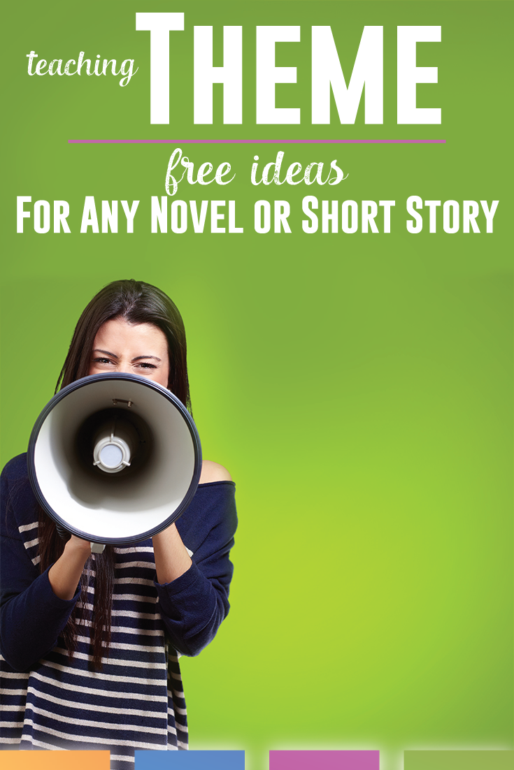 Teaching theme with secondary students can require a few tricks. Here are free ideas to implement into any novel or short story lesson plan.