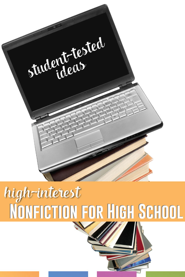 What nonfiction resources for high school do you use? This post contains links from around the web to articles that relate to students. #NonfictionLessons #HighSchoolELA