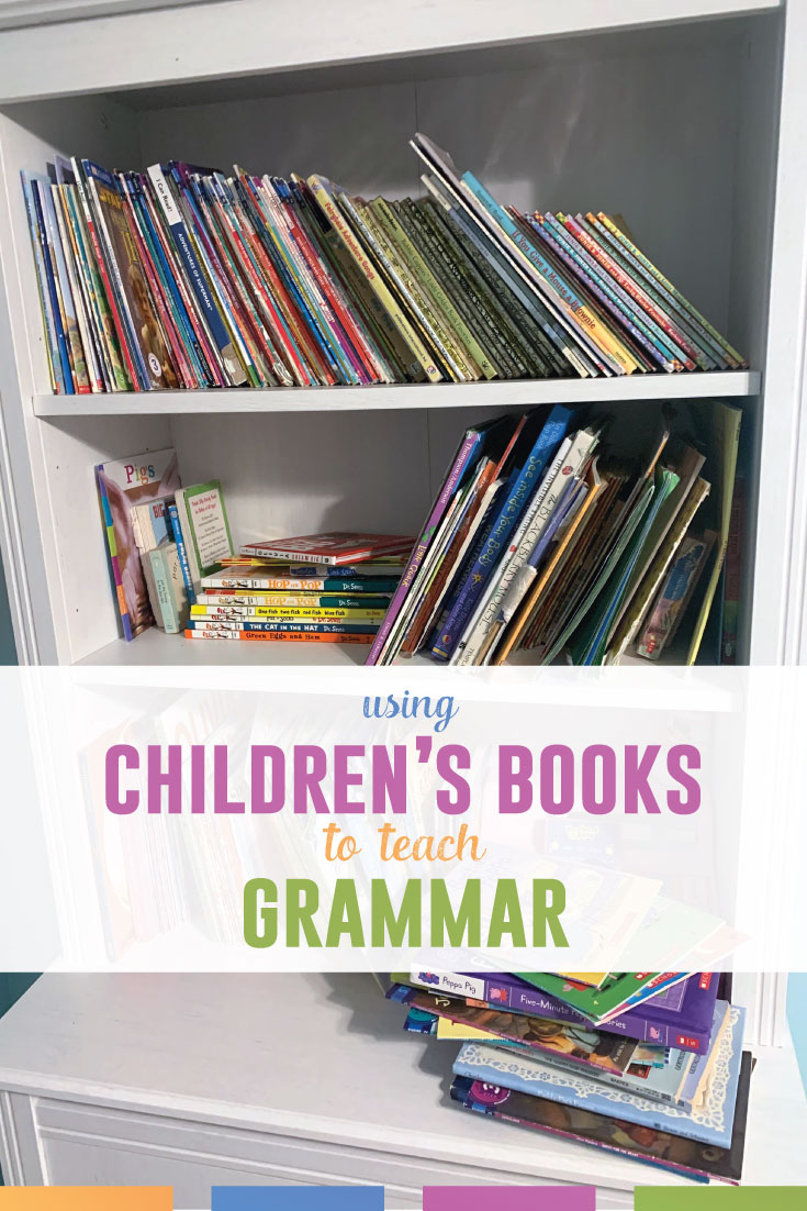 Use children's books to teach grammar concepts. Here are some simple grammar lesson ideas. #MiddleSchoolELA #GrammarLessons