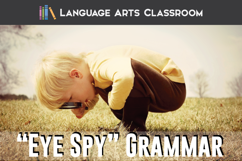 """Eye Spy"" Grammar"