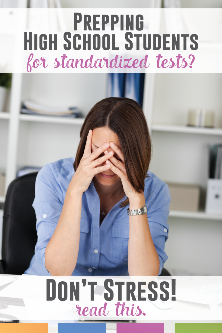Preparing high school students for standardized testing? Don't stress! These tips will help you prepare secondary students.