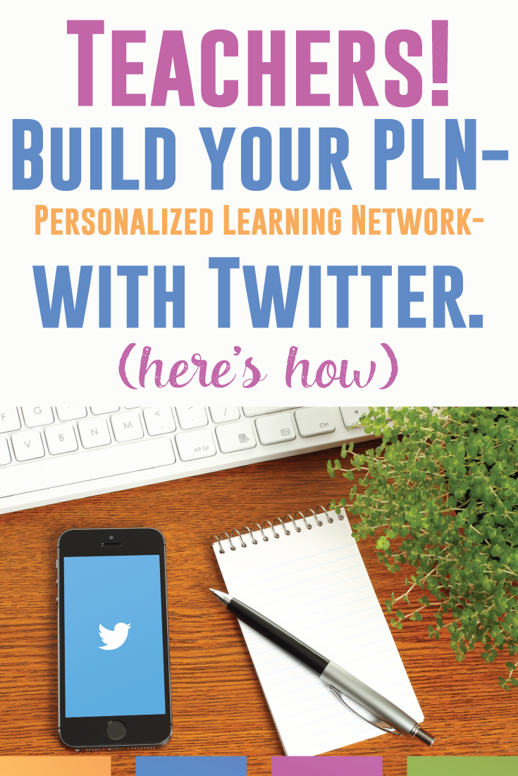 Teachers! Build your PLN with Twitter. Here is a beginning guide to Twitter for teachers.