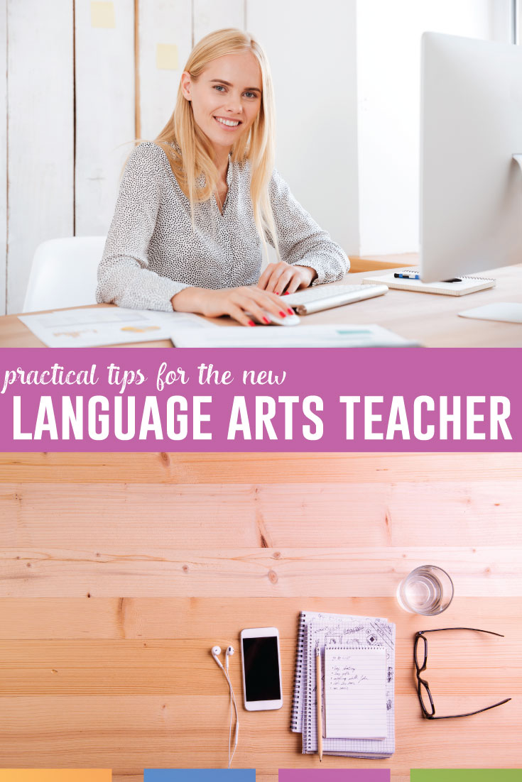 You can succeed as a new language arts teacher. Ask for help, be professional, and learn what capabilities you have. Read more ideas for that first year. #TeacherTips #NewTeachers #MiddleSchoolELA #HighSchoolELA