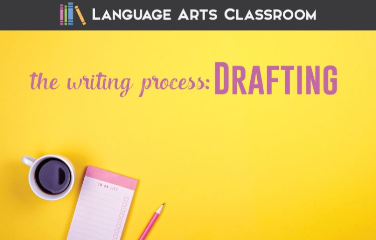 Drafting is the second part of the writing process. Look at one teacher's process to see what will help you with student essays. #WritingProcess #StudentWriters