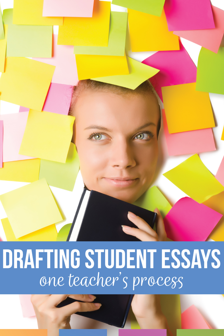 Secondary ELA teachers: this writing process pattern works with drafting essays with students.