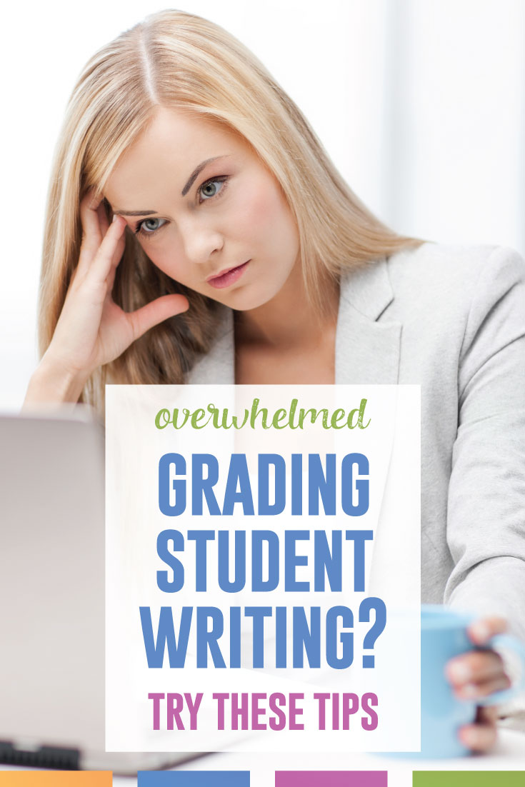 Teachers can get burnt from grading student writing. With these ideas, you can minimize the amount of time you spend grading. #HighSchoolELA #WritingLessons