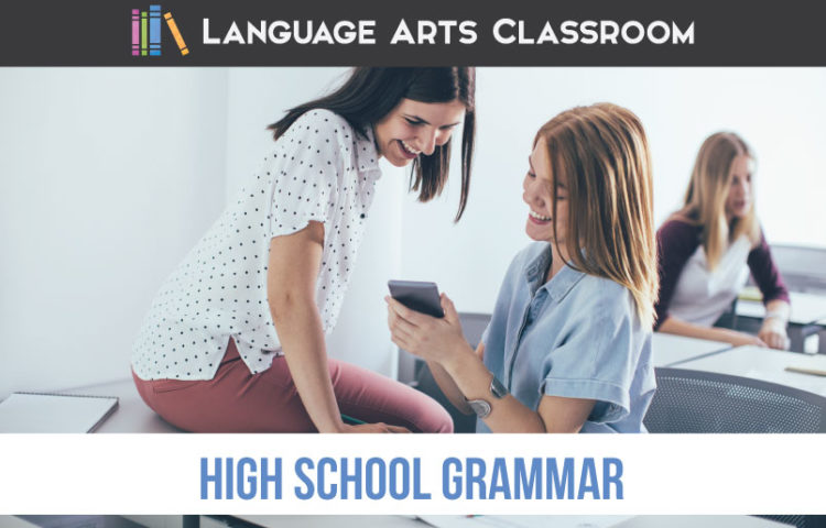 How can you make high school grammar resources effective and meaningful for older students? Included are free videos and tricks for helping students understand their language. A grammar diagnostic is important for high school grammar.