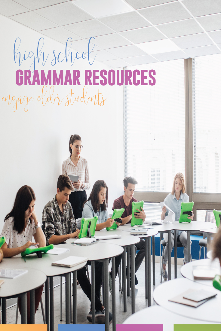 High school grammar resources should help high school writers meet language standards. Discussing grammar with secondary writers will connect grammar to writing. High school English students need a working knowledge of the parts of speech. Teach high school grammar with meaning. Start with a grammar diagnostic.