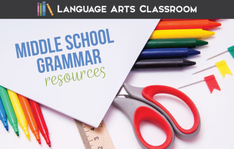 Middle school grammar resources should be engaging & hands-on. Middle school grammar requires intense knowledge of the parts of speech, parts of a sentence, and phrases so students can work on punctuation and sentence structure. Grammar resources should reflect the intense knowledge expected of students. Grammar for middle school might seem overwhelming, but with a few organizational hacks, middle school ELA teachers will have fun grammar activities middle school.