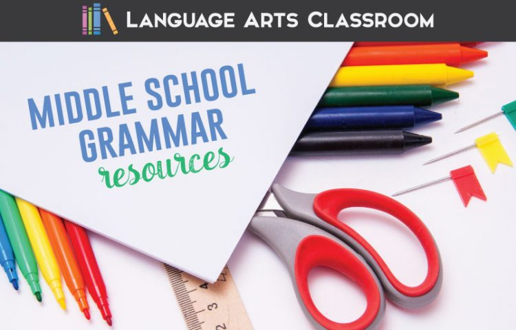 Middle school grammar resources require a dash of fun and engaging materials. Consider these approaches for middle school ELA lessons. #MiddleSchoolELA #GrammarLessons