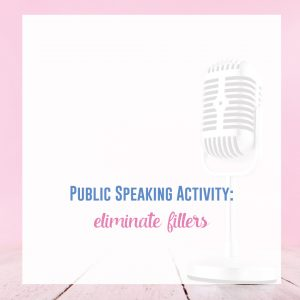 What speech activities do you complete with your public speaking students? Public speaking games and fun impromptu speech activities will help your lessons.