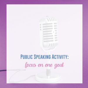 Public speaking activities can and should engage young speakers. Add these to your speech unit or class. Make speech activities for high school students interactive.