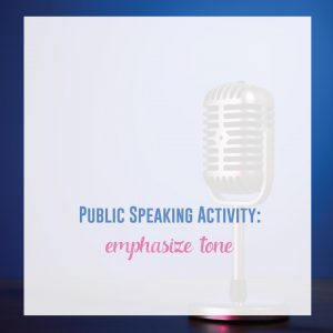 Add a few public speaking lessons to your ELA curriculum. Fun impromptu speech activities included!