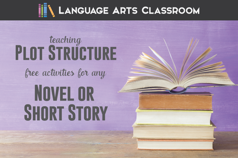 Study the plot structure with any novel or short story - and these free activities!