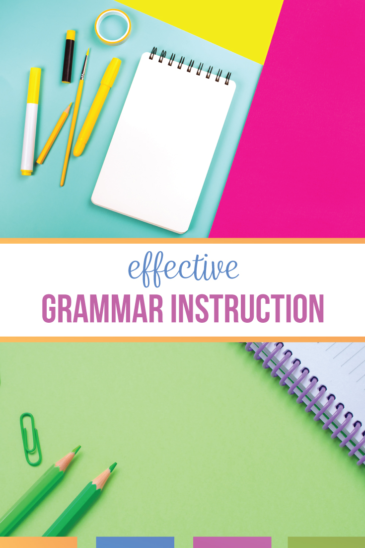 English teachers: effective grammar instruction is within your reach! What is a good grammar lesson? A grammar lesson should teach language concepts & connect to other parts of language arts. Grammar lessons to help your students will connect to student writing & literature. Present various grammar activities & learning opportunities for language arts classes for effective grammar lessons. Grammar instruction for middle school English can be fun. Engage high school English students with grammar.