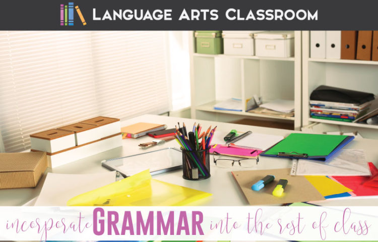 Are you looking for how to incorporate grammar into lessons? Incorporate grammar rules into literature lessons and writing activities.