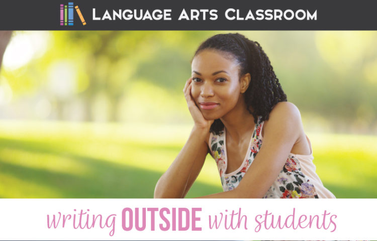 Writing outdoors to help students Outdoor writing activities will engage reluctant writers.