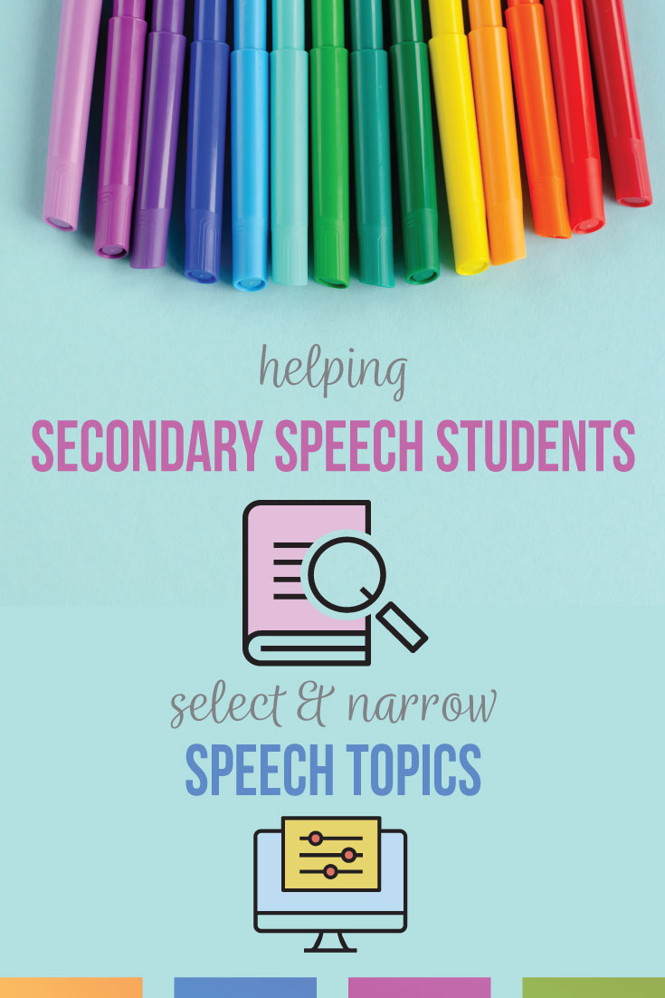 Finding speech topics for students can set secondary public speaking students up for success. Classroom speech topics should relate to students but provide opportunities for discussion & broader ideas. Speech topics for high school students can include sports, social media, & community-based concerns. Argumentative & informative speech topics for high school speech students can ensure success of a public speaking course.