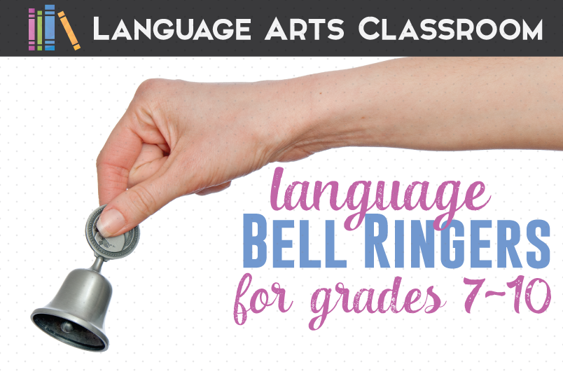 Age-appropriate, visually appealing, and content sound bell ringers? Here is why I start each day with a language bell ringer.