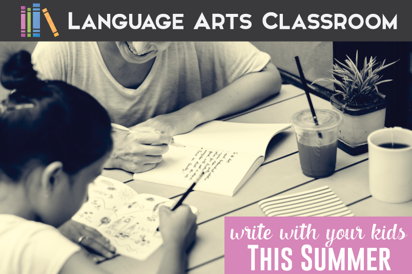 Try these fun writing activities with your kids this summer, and stop the summer slide!