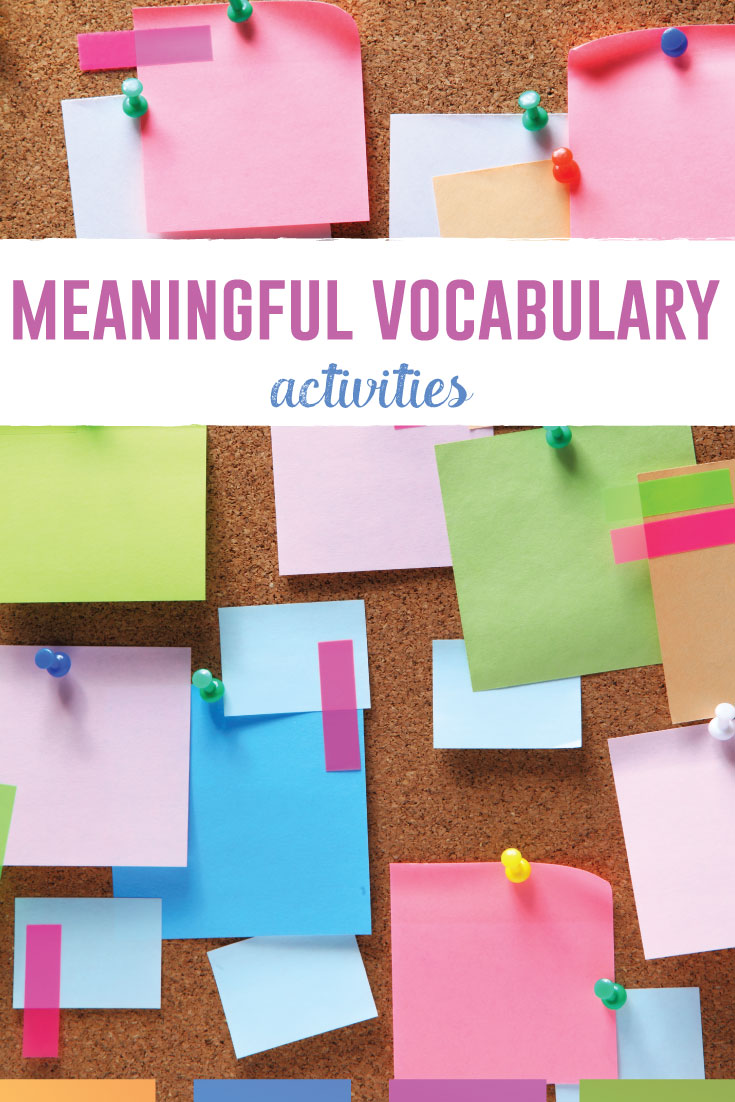 Vocabulary activities can be meaningful and engage students. Try these vocabulary lessons to support students. #VocabularyLessons #HighSchoolELA #MiddleSchoolELA
