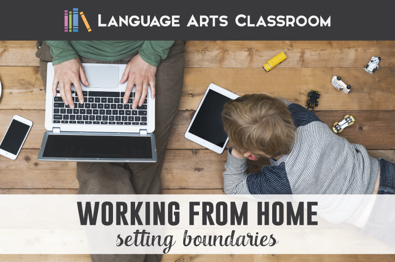 Working at home with kids? It's ok to set boundaries. Here are mine.