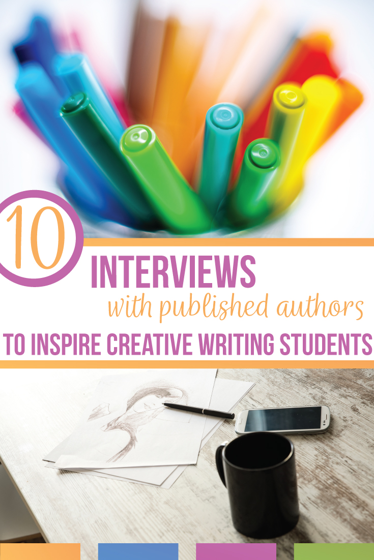 Add these 10 articles to inspire creative writing students to your writing lessons. Inspire creative writing students by discovering how published authors write & encourage creative writing students to find their own writing process. High school creative writing students can relate to famous authors and connect literature to writing with other people's creative writing processes.