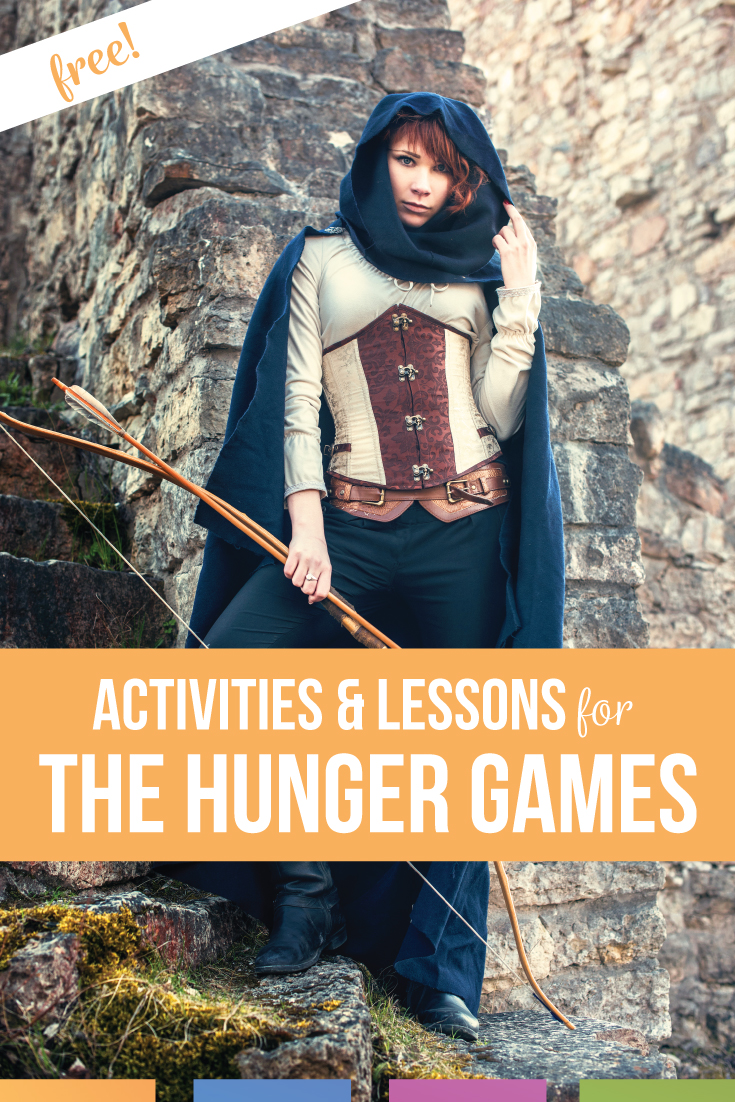 Are you looking for The Hunger Games lesson plan ideas? Download free Hunger Games lesson plans that will meet a variety of language arts standards. Hunger Games activities can cover media literacy, language, & analysis. Set the stage with Hunger Games pre reading activities for your Hunger Games novel study with middle school language arts classroom. Teaching The Hunger Games will be a great addition to seventh grade language arts or eighth grade language arts classes. Middle school ELA help!