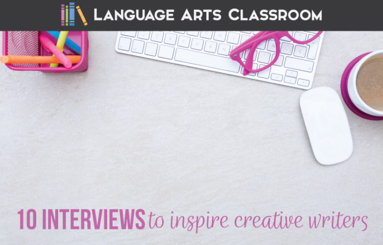 Inspire High school creative writing students with these interviews with published authors. Inspire creative writing students with authentic discussion of the writing process.