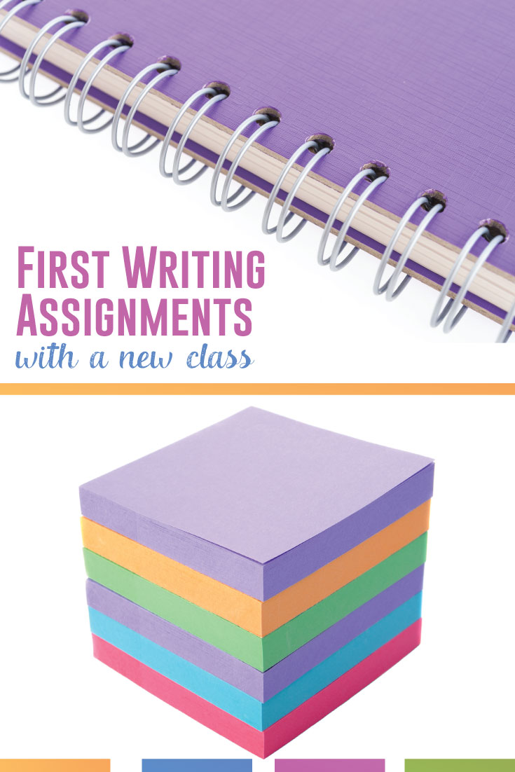 English teachers: how do you develop those first writing assignments with a new class? Set the tone and begin writing activities with meaning. #WritingLessons #HighSchoolELA