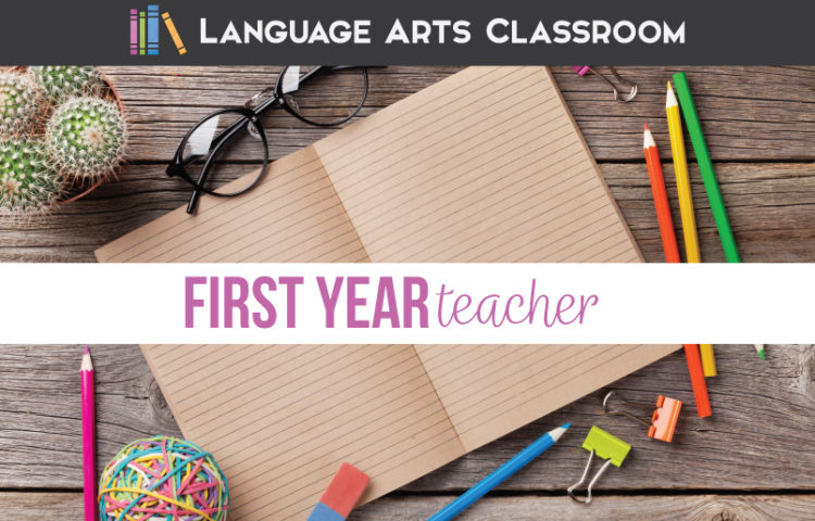 A first year English teacher will need language arts teacher resources.
