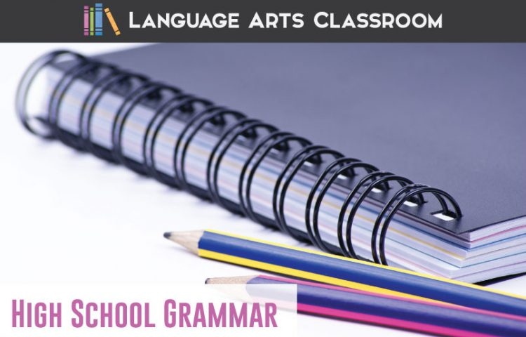 High school grammar worksheets can contain engaging material and inspire young writers. Connect grammar and writing with these worksheets and activities. #GrammarLessons #GrammarActivities