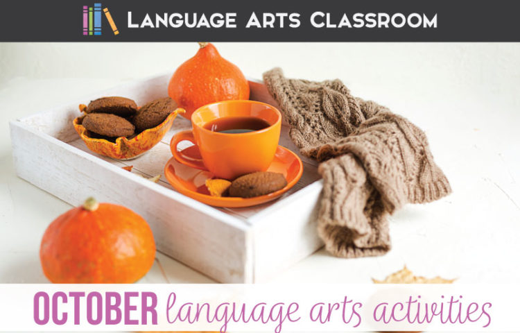 October language arts activities can bring excitement to the secondary classroom. Here are spooky stories and activities for middle school students. #MiddleSchoolELA #HighSchoolELA
