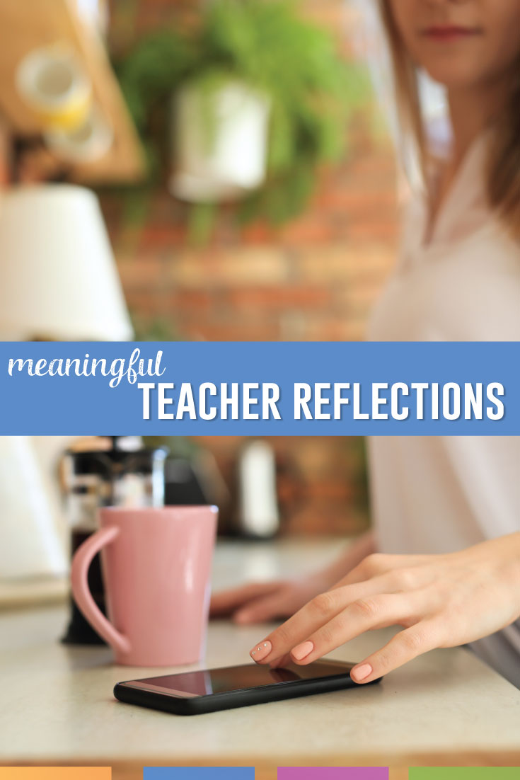 Teacher reflection: how can you thrive as a human and as a teacher? Reflection should take into account your well-being as a teacher as well as your classroom practices. #TeachingProfession
