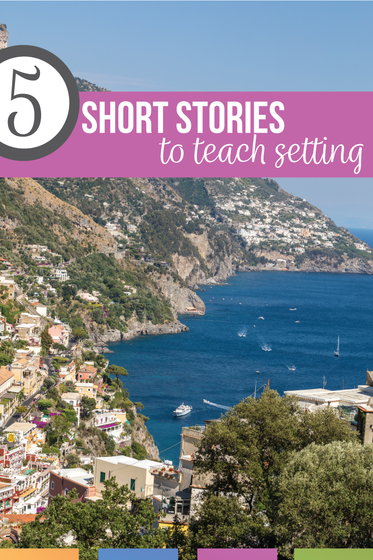 Looking for short stories to teach setting? Add this free literature PDF for teaching setting of a story. Setting activities can help middle school language arts students. Teaching setting of a story will help with a literary devices activity. Novel study activities can engage literature and novel studies. Teaching the setting of a story establishes the basic of a story for scaffolded literature activities. Add these short stories to teach setting. Free novel study activities included.