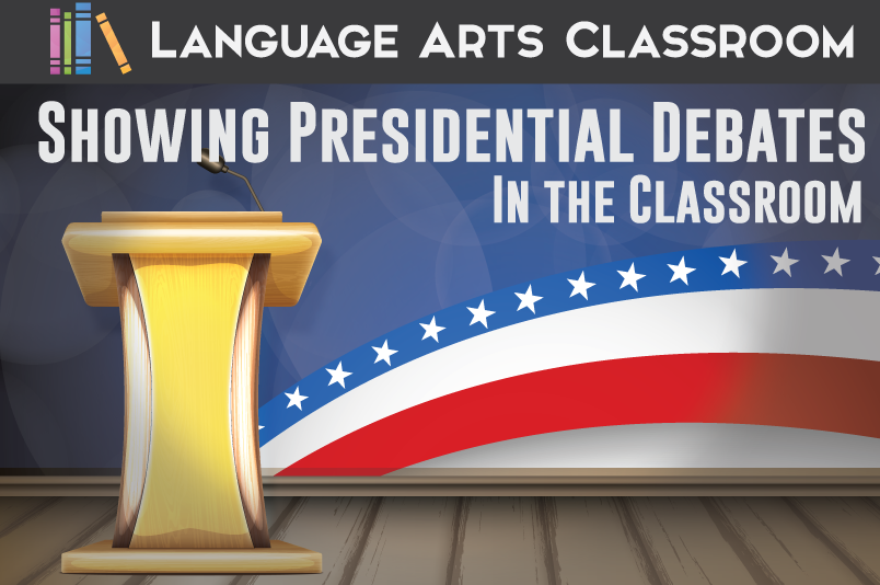 Showing political debates in a public speaking course provides real life learning for students. Prepare your students though!