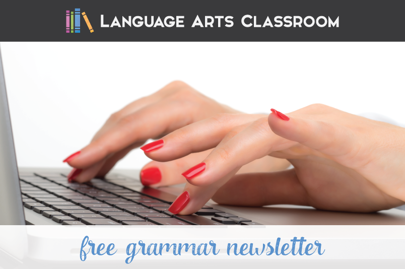 Send a grammar newsletter home to parents. Encourage parents to be involved in the teaching of grammar.