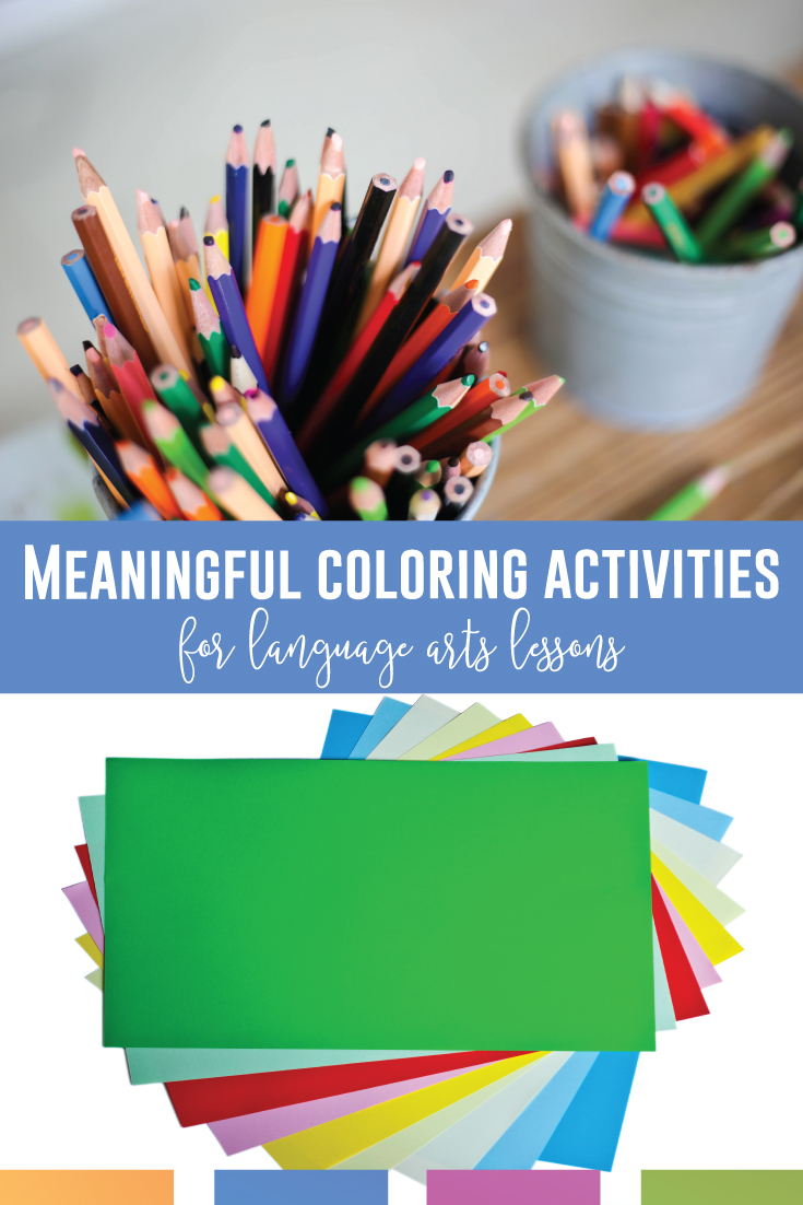 Language arts coloring pages can engage reluctant readers. Grammar coloring sheets engage middle school language arts classrooms. Grammar coloring worksheets scaffold grammar lessons. Middle school coloring pages are fun!