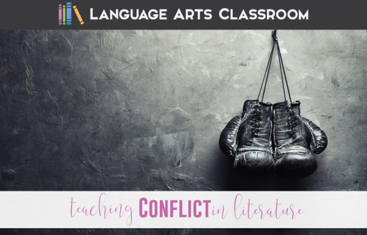 Types of conflict activity and literary elements activities are here!