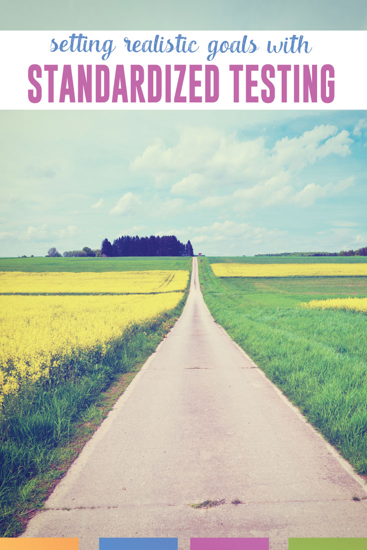 Covering test prep? Try goal setting with older students. Help students realistically prepare for standardized testing like college entrance exams. #TestPrep #StandardizedTesting