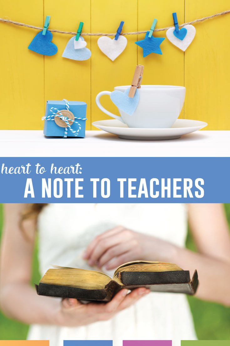 Teachers, heart to heart; why do you teach? What makes you excited about teaching every day? Read one teacher's perspective. #TeacherLife #TeacherTips