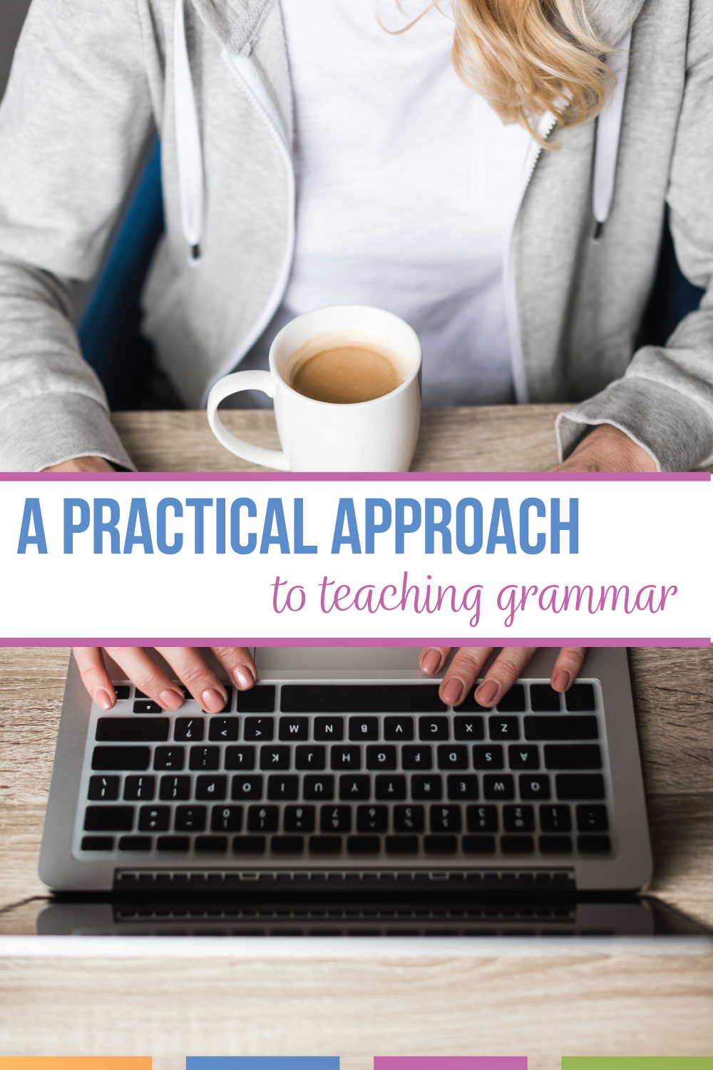 ELA teachers: you need a practical approach to grammar lessons. Different approaches in teaching grammar exist, but do your language arts students retain grammar terms & grammar concepts? Can English students apply grammar to their writing? A practical guide to English grammar uses sensible grammar activities & engaging grammar lessons to make grammar stick with English language arts classes.