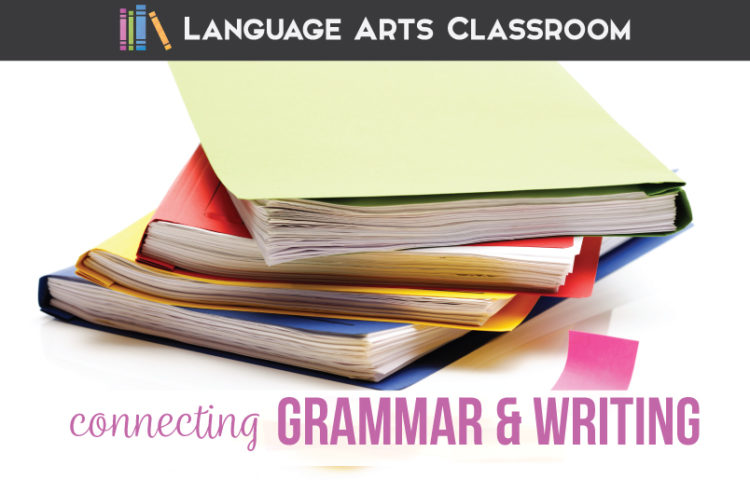 Connecting grammar and writing are an important part of writing lessons. English grammar writing lessons will include grammar.