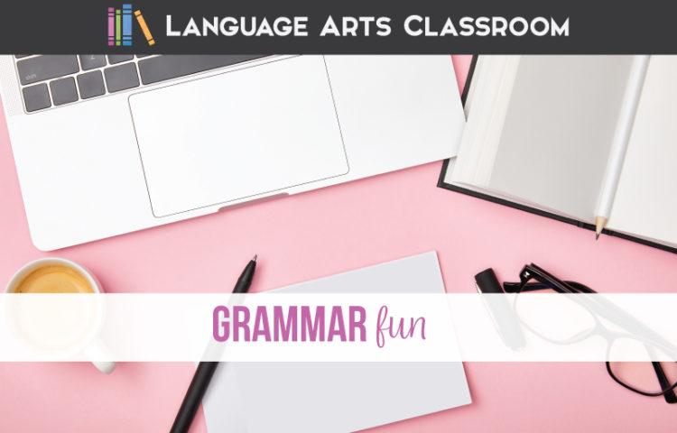 Grammar fun: how to make grammar fun with fun grammar lessons.