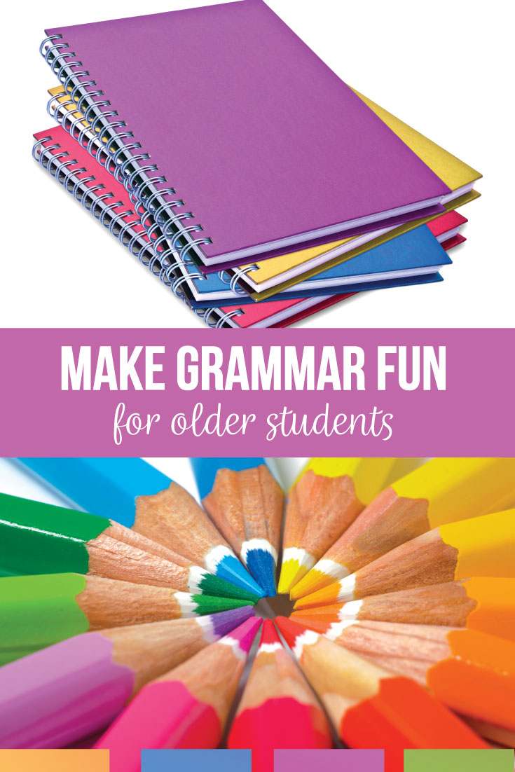 Are you looking to make fun grammar lessons? Ideas for how to teach grammar in a fun way? Grammar can be fun with purposeful lesson and activities. Teach middle school grammar with an engaging attitude.